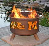 Ole Miss Patio Fire Pits