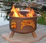 U of Montana Patio Fire Pits